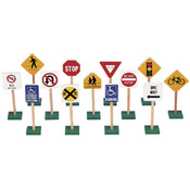 "7"" TRAFFIC SIGNS (13/SET)"