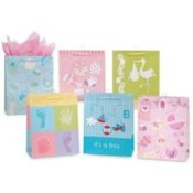 Baby Gift Bags - Medium Wholesale Bulk