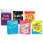 Birthday Gift Bags - Large