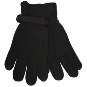 Mens Black Fleece Gloves