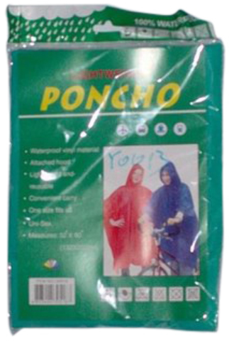 Rain PONCHOs For Adults (678481)