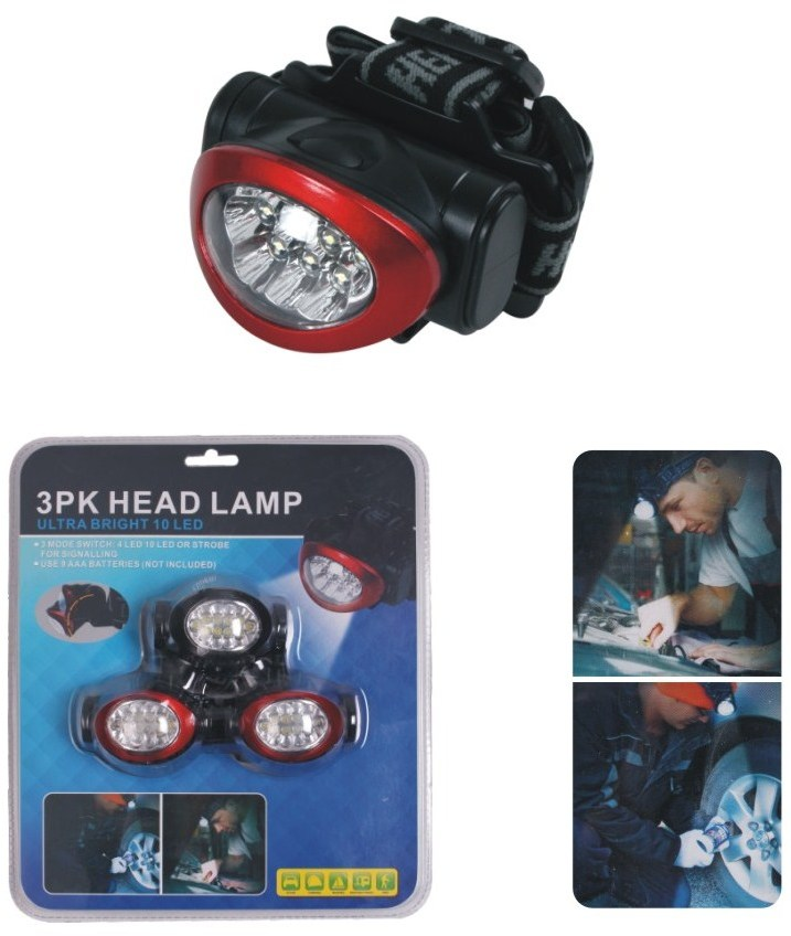 As Seen on TV Headlamps 3 Pack [1895836]