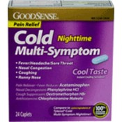 Good Sense Cold Night Time Multi-Symptom Cold Cool