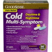 Good Sense Cold Night Time Daytime Multi-Symptom C