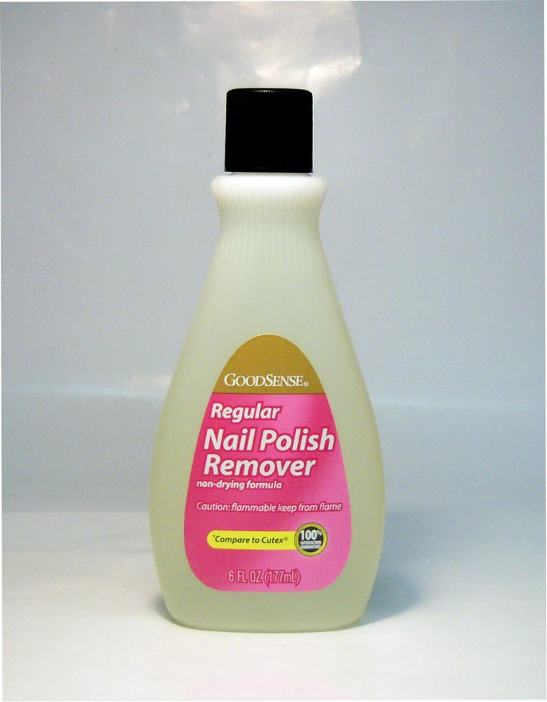 GoodSense(R) NAIL Polish Remover Regular - For Natural NAILS 6 oz [1038668]