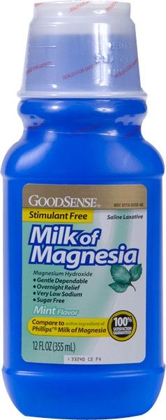 Wholesale Goodsense Milk Of Magnesia Magnesium Hydroxide