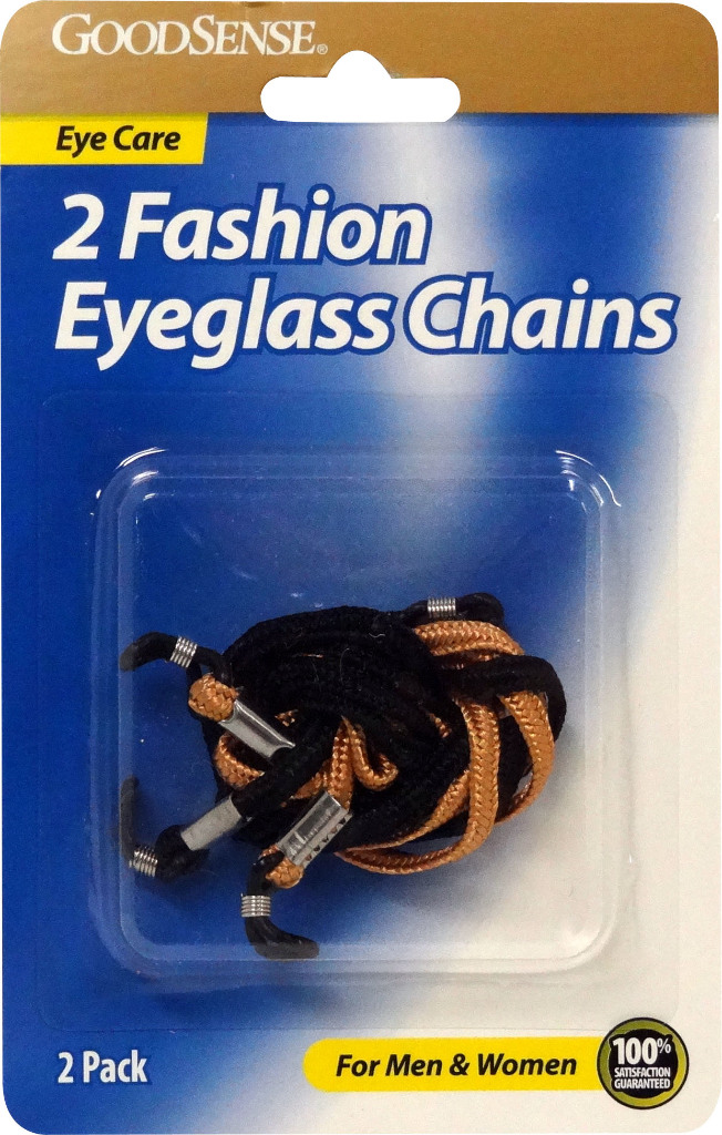GoodSense(R) Fashion Eye Glass Chains 2-Pack [1191811]