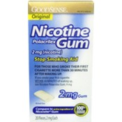 Good Sense Original Nicotine Gum 2 Mg Wholesale Bulk