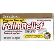 Good Sense Regular Strength Apap Tabs 325Mg