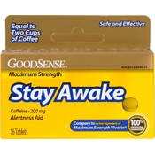 Good Sense Maximum Strength Stay Awake Tablets