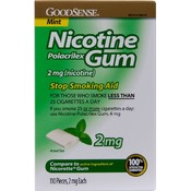 Good Sense Mint Nicotine Gum 2 Mg Wholesale Bulk