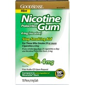 Good Sense Mint Nicotine Gum 4 Mg Wholesale Bulk