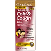 Good Sense Children's Cold & Cough Elixir Red Grap