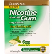 Good Sense Coated Mint Nicotine Gum 4 Mg Wholesale Bulk