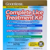 Good Sense Lice Treatment Kit