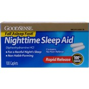 Good Sense Sleep Aid Caplet Fast Acting