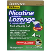 Good Sense Nicotine Lozenge Mint 4 Mg Wholesale Bulk