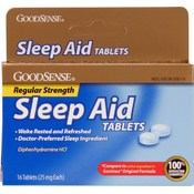 Good Sense Sleep Aid Tablets
