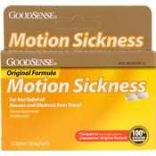 Good Sense Motion Sickness