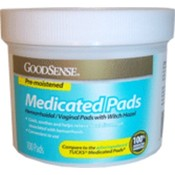 Good Sense Medicated Pads