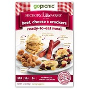 Hickory Farms: Beef, Cheese & Crackers Meal 3.3 oz
