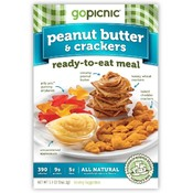 Peanut Butter & Crackers Ready to Eat Meal 5.9 oz
