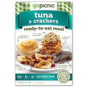 Tuna & Crackers Ready to Eat Meal 6.2 oz