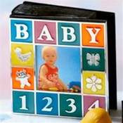 Baby Block Photo Album Wholesale Bulk