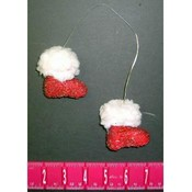 Santa Boot Ornaments