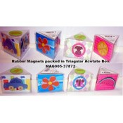 Assorted 3-Pack Rubber Magnets- Mag005