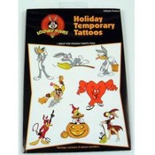 Halloween Looney Tunes Temporary Tattoos