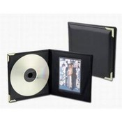 Single CD/Picture Holder with Silver Corners