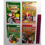 Assorted Children's Christmas Fun Pad Books
