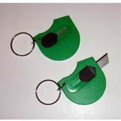 Handy Cutter Keychain with Safe Retracting Blade