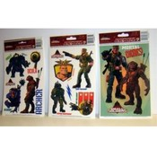 """Small Soldiers"" Static Cling Window Decorations"
