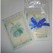 Pack of 8 Beach Themed Note Cards with Envelopes