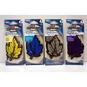 Auto Expressions 2-Pack Leaf Shaped Hanging Car Air Fresheners
