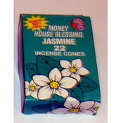 22 Pack Incense Cones Jasmine Flavor
