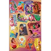 Scratch n' Sniff Scented Spicy Girls Stickers