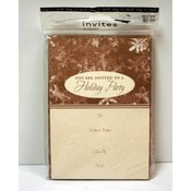 Holiday Party Invitations with Envelopes - 10 Pack Wholesale Bulk
