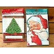 Christmas Holiday Invitations