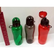 Utopia PC 24 Oz. Water Bottle with Dome Hinged Top - Assorted Colors Wholesale Bulk