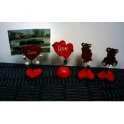 Assorted Wooden 'Love' Theme Picture Holders Wholesale Bulk