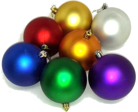 Shatter Resistant CHRISTMAS Ornaments (1882468)
