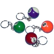 33 mm Billiard Keychain