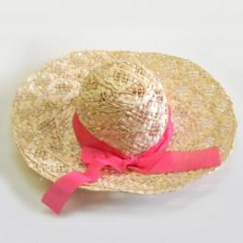 STRAW Ladies Spring HAT with Ribbon [1932248]