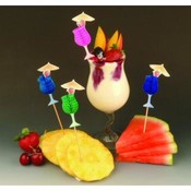 Tropical Drink Party Picks Counter Display Wholesale Bulk