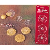For Santa Cookie Stamps