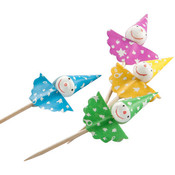 Wholesale Cocktail Umbrellas - Wholesale Finger Food Picks - Wholesale Party Picks