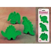 Dinosaurs Cookie Cutters, Set of 3